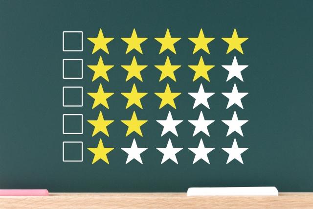 星の評価・査定